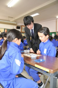 こ・囲碁体験教室(東小で)