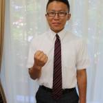 ▽古川友暉さん(野沢北2年) 囲碁部門の出場。初の全国大会出場で緊張はあるが、「全国の強い人と対戦できるので楽しみ」。