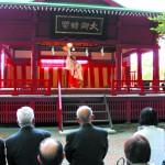 さ・こ・鼻顔神社報告会(浦安の舞)