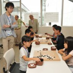 地元プロの名冠した初大会 柳澤理志杯子ども囲碁大会