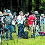 会場には多くのカメラマンも詰め掛けた