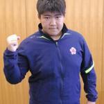 レスリング男子96㌔級に出場する伊藤さん